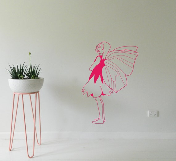 FAIRY WALL STICKER Removable Decal Made in Australia