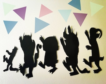 Where the wild things are, where the wild things are decorations, where the wild things are party, where the wild things are decor, monsters