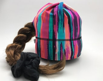 With hole for the quilt multi sport Hat pink