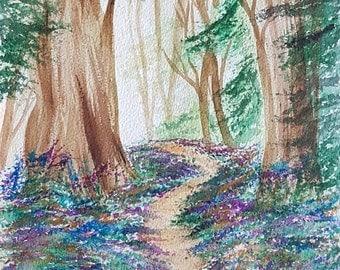 Walking Through The Woods (Original)