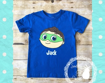 Super Why Inspired Personalized Shirt