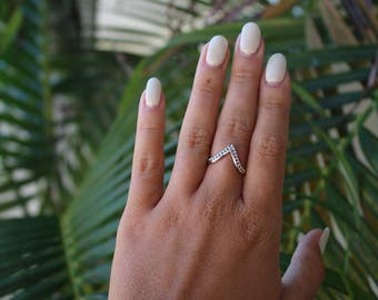 The V shape ring