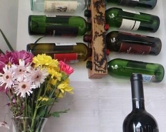 Lightening Kissed Wine Rack