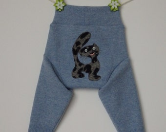 Lambswool baby diaper covers, soakers, longies, Size M
