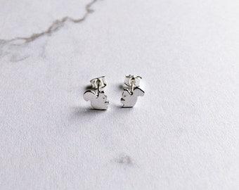 Earrings silver squirrel earrings