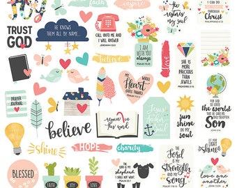 Simple Stories Faith Bits & Pieces