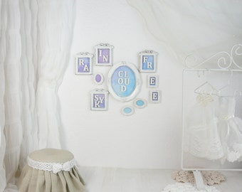 A big set of 10 pictures, 1/6 scale, blythe, pullip, barbie, wall paintings, wall decoration, doll house