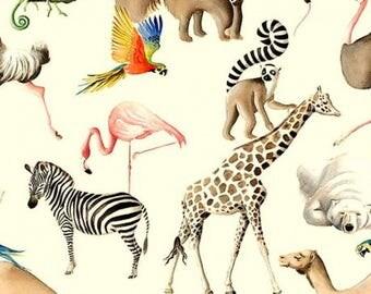 BIO - Walk to the Zoo - cream background
