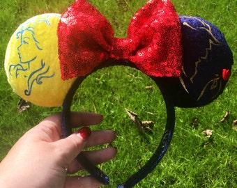 Beauty / beast inspired Ears