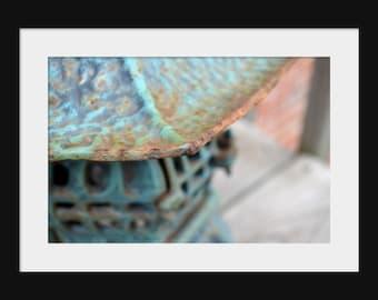 DIGITAL DOWNLOAD Fine art digital photography close up metal asian oriental pagoda