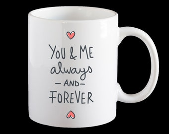 Valentines Day mug, Love Mug, Valentine's Day gift, Personalised mug