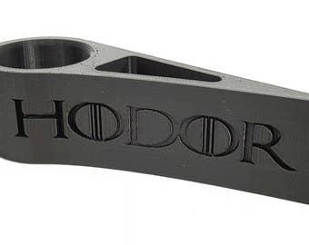 3D Printed Hodor Door Stop Round by 3D Cauldron