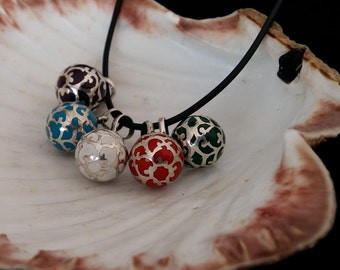 Colour Angel Callers, Llamador de Angeles Colores, Small Angel Callers, Amulet Pendant, Protection Harmony Pendant Ball Bell, Gift Idea