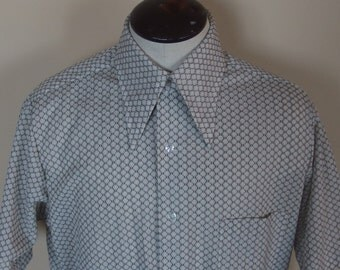 1970s Mens Short Sleeve Knit Shirt by Fruit of the Loom
