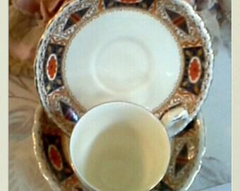 Antique Grindley Art Nouvea Demitasse Teacup and Saucers