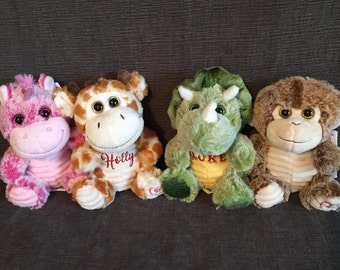 Personalized Plush Animals