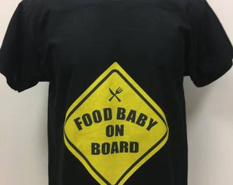 Food Baby on Board Shirt