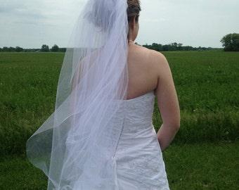 Custom Two-Layer Wedding Veil
