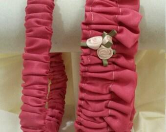 Pink Garter Set