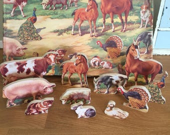 Vintage farmyard chad valley jigsaw