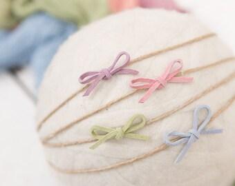 Little Bow Peep / Newborn Headband / baby headband