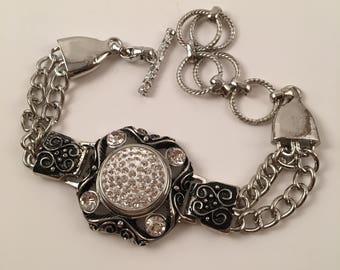 Bracelet with Snap Base
