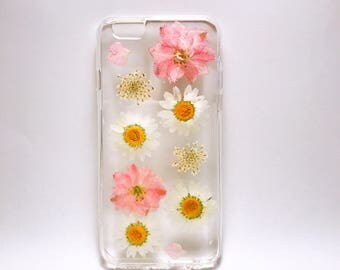 Pressed Flowers Iphone cases,dry flowers iphone cases,iPhone 5, 5s,5c,SE case,iPhone 6, 6s,  6 plus, 6 plus s cases. iphone 7/7+ case.