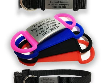 Pet ID Tag - Medical ID for Pets - ID Tags for Collars