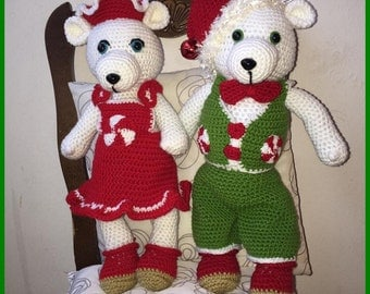 Christmas couple in evening tutorials Milly and Milou