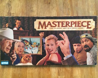 1996 Complete Masterpiece - The Classic Art Auction Game by Parker Brothers No 00004
