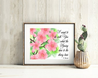 Love quote print,love wall art,love quote decor,quote decor,valentines day print,valentines day gift,gift for her,love quote wall art