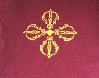 vajra/dorje fairtrade organic tshirt