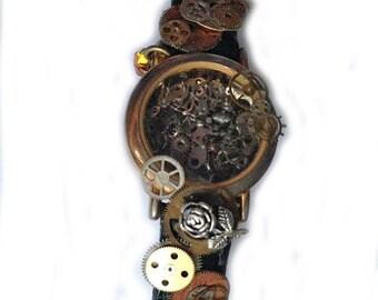 Steampunk Bracelet watch / Armband