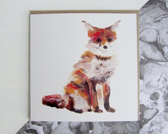 Smiling Fox Card