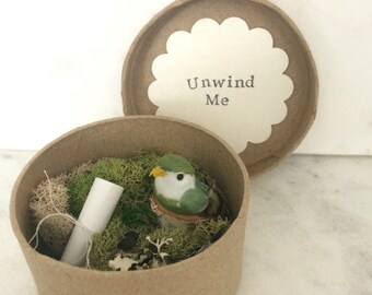 "Custom Pregnancy Announcement with Secret Message...""This little birdie told me that you're going to be grandparents!"""