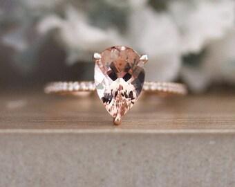 Morganite Vs Diamond Cost