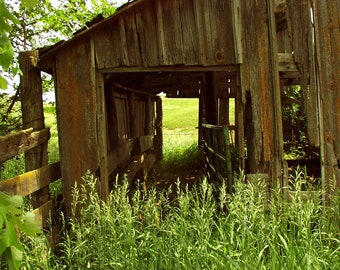Abandoned Barn 8x10 Photograph