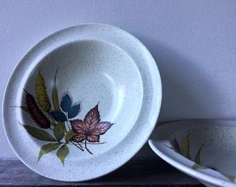 """Vintage Wood & Sons """"Autumn"""" Bowls"""