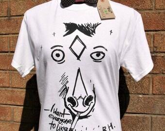 BoJack Horseman (White) Unisex T Shirt