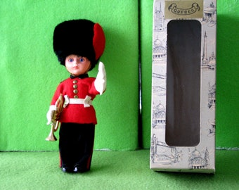 Vintage British Guardsman Bugler Doll, No 1023