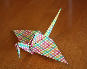 20 Origami Crane Wedding Favors Bright Colors BC1/1