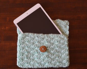 Crochet Ipad Mini Case, Electronics Case