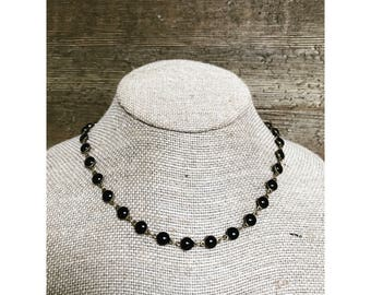 Puffy Coin Necklace