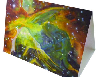 Orion Nebula - Greeting Card