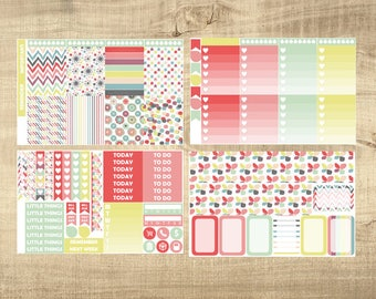 Sweet Sorbet 4 Page Weekly Kit for Erin Condren Vertical LifePlanner