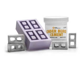 DIY Mini Cinder Block Mold Kit