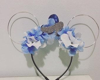 Cinderella floral wire ears