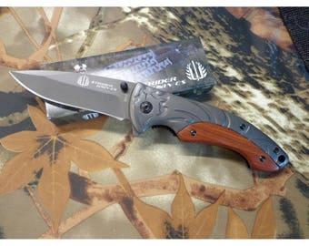 """Strider"" Blade 8.5 cm sleeve 11.5 cm stainless steel Pocket knife"