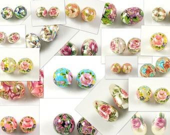 Tensha beads, decal beads from Japan -   COMING SOON OVER 200 paterns!