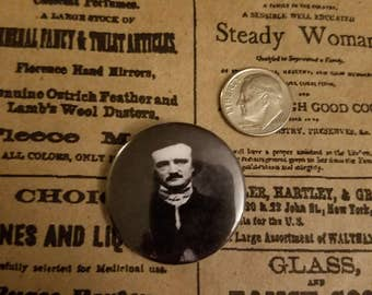Edgar Allan Poe pin